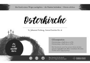 Osterkirche am Ostersonntag @ Gemeindezentrum St. Johannis
